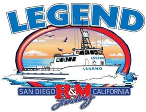 Legend Sportfishing San Diego California Logo